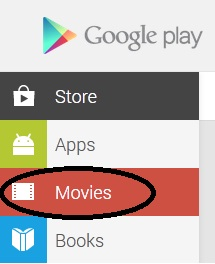 Google Play-Film