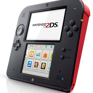 Nintendo 2DS Red