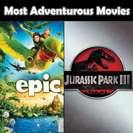 Film yang paling Adventurous