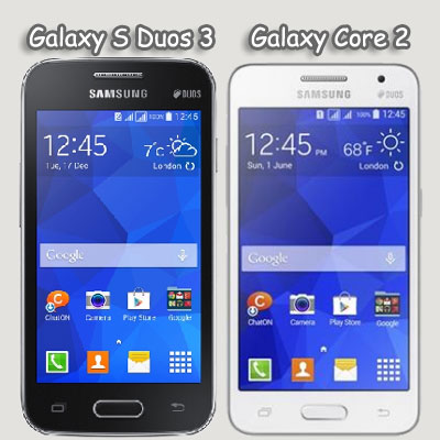 Galaxy S Duos 3 & Core 2