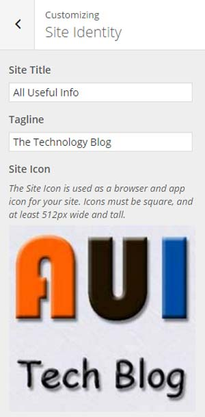 WordPress Site Icon