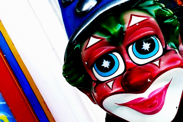 image of clown