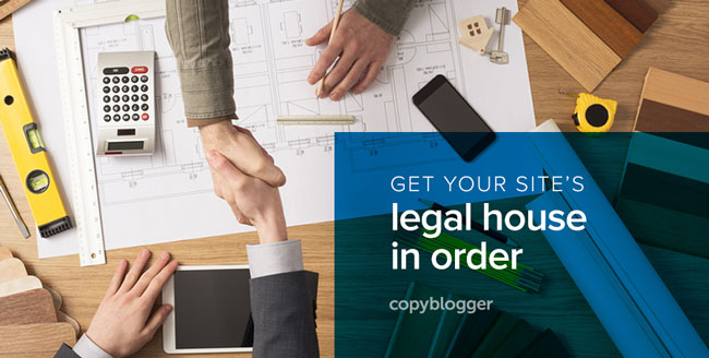get your site's legal house in order