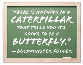image of buckminster fuller quote