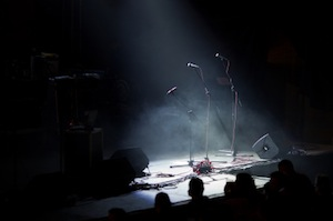image of empty stage
