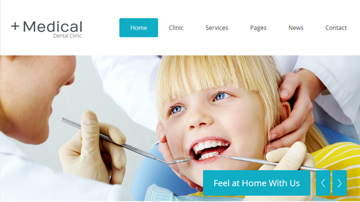 Tema Medical Dental Clinic Kesehatan WordPress Premium