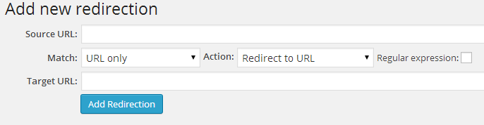 Redirection WordPress Plugin - Afiliasi Link Cloaking