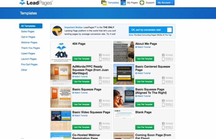 LeadPages Template