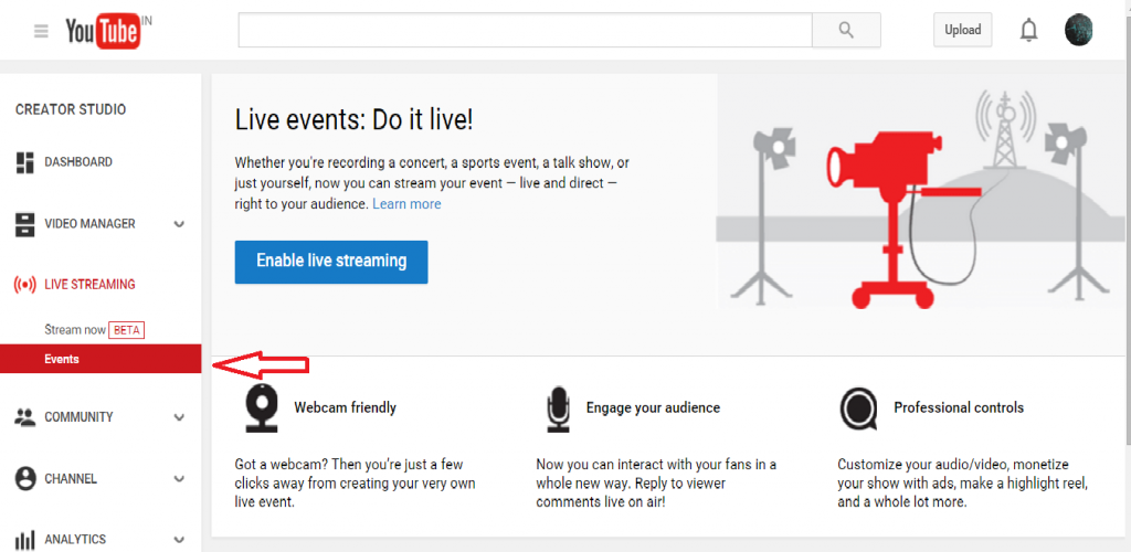 youtube screen2