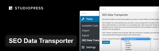 Data yang SEO Transporter