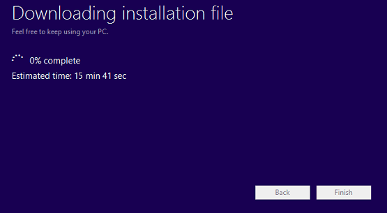 Windows 8 download File ISO