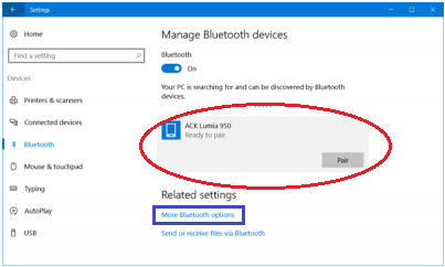 mengaktifkan bluetooth di windows 10